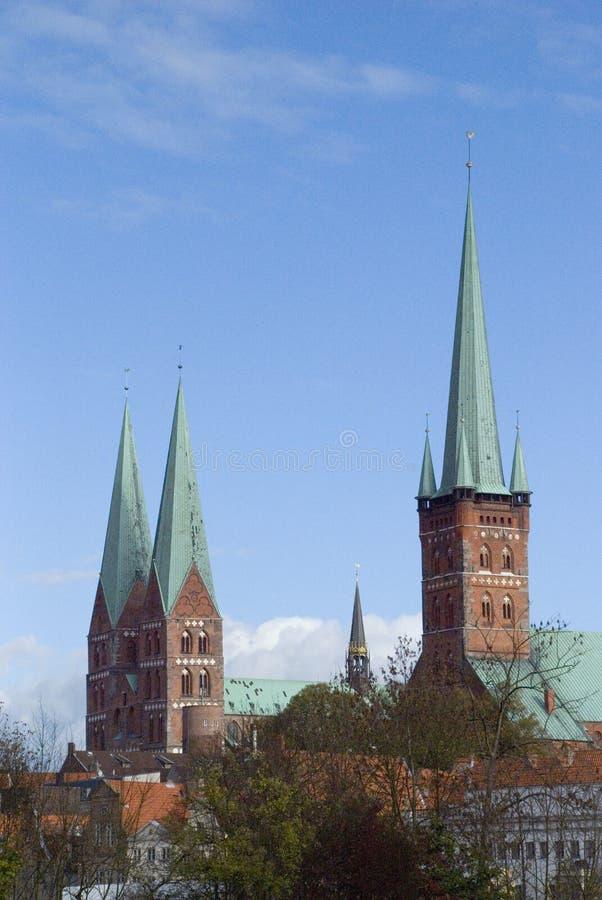 Free Church Towers Stock Image - 5189851
