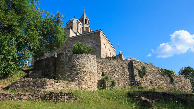 The Church at Tsarevets royalty free stock images
