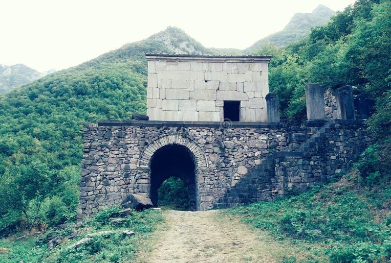 Church in Vahanavanq, Armenia royalty free stock image