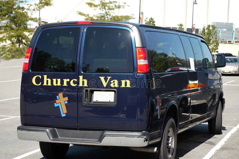 Church Van Royalty Free Stock Image