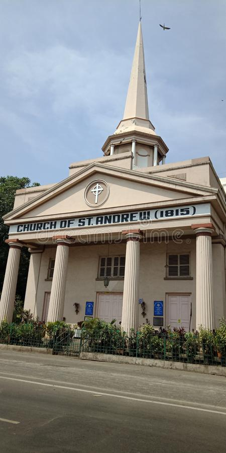 This is church since very longe years old. This church at Mumbai city and since 1815 belongs to royalty free stock images