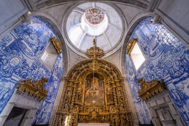 Church in Viana do Castelo royalty free stock photos