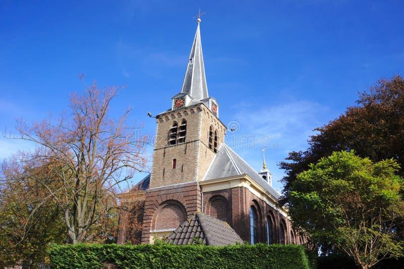Berkel en Rodenrijs, the Netherlands. Church in the village of Berkel en Rodenrijs, South Holland province, the Netherlands royalty free stock image