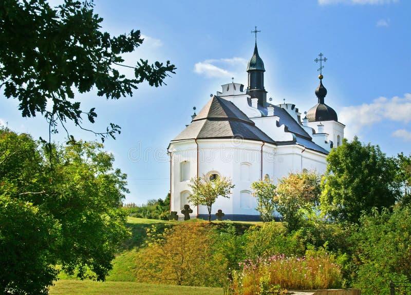 Church In Village Subbotiv, Ukraine Royalty Free Stock Image