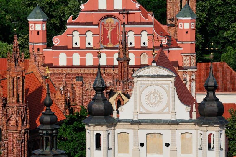 Church in Vilnius royalty free stock image