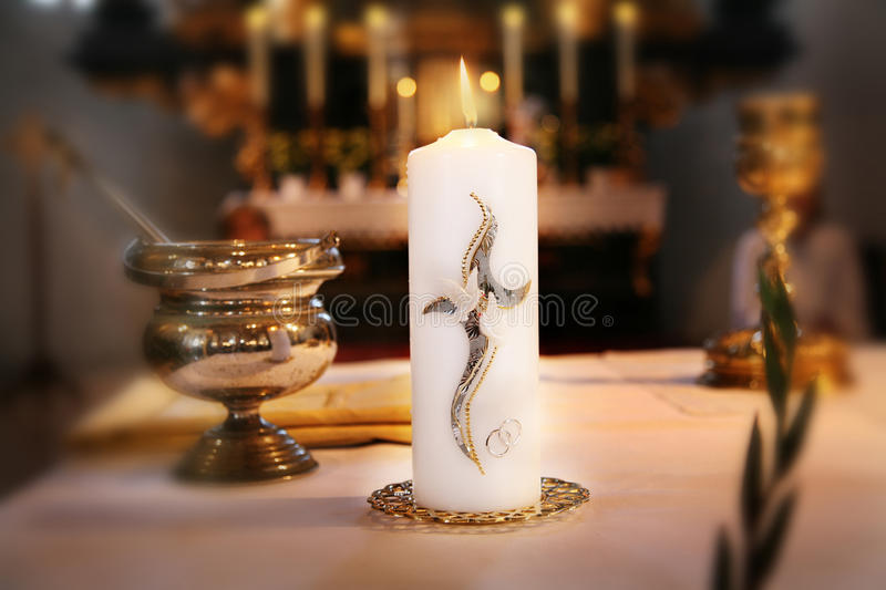 Download Church Waiting For Wedding Process Stock Photo - Image: 18588000