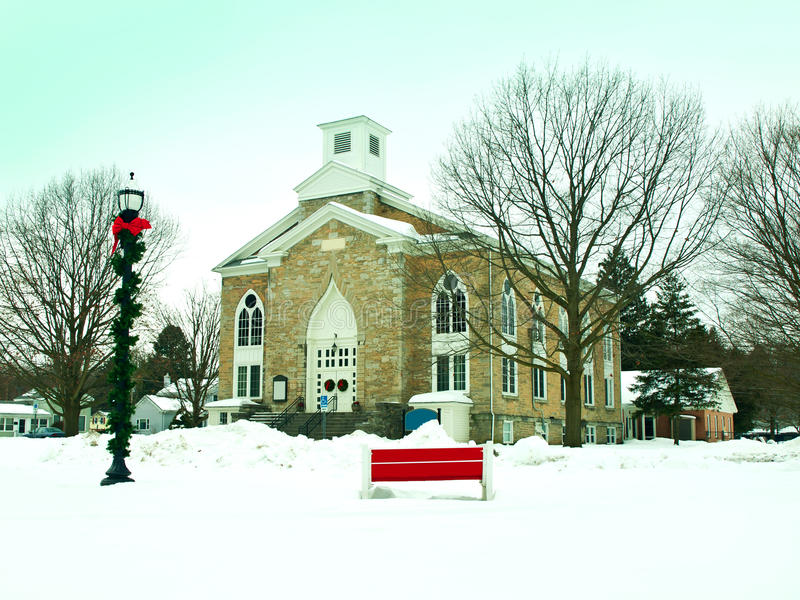 Download Church in winter stock photo. Image of outdoor, season - 28519402