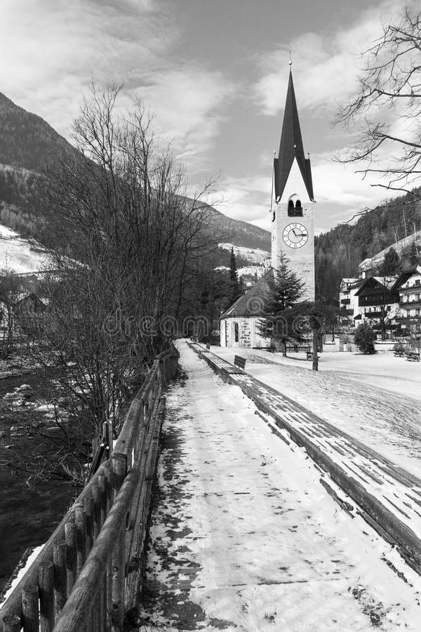 Free Church With A Bell Tower On The River Ahr Royalty Free Stock Photo - 30039025