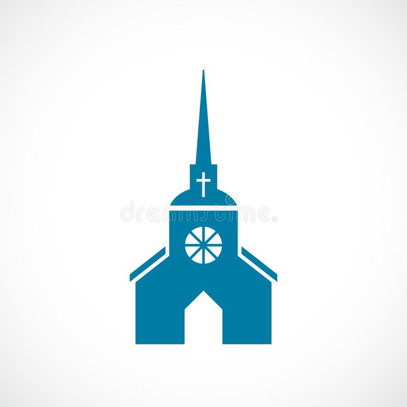 Free Church With Steeple Vector Icon Stock Photos - 109190793