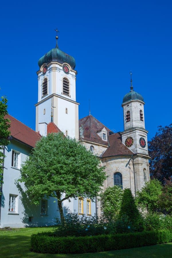 Church wolfegg. Baroque church in wolfegg, near Ravensburg , Germany royalty free stock photography