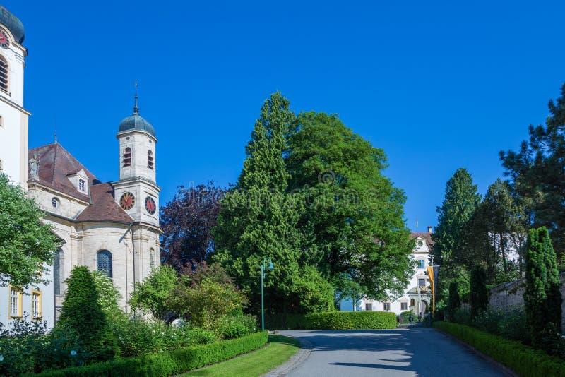 Church wolfegg. Baroque church in wolfegg, near Ravensburg , Germany stock photography