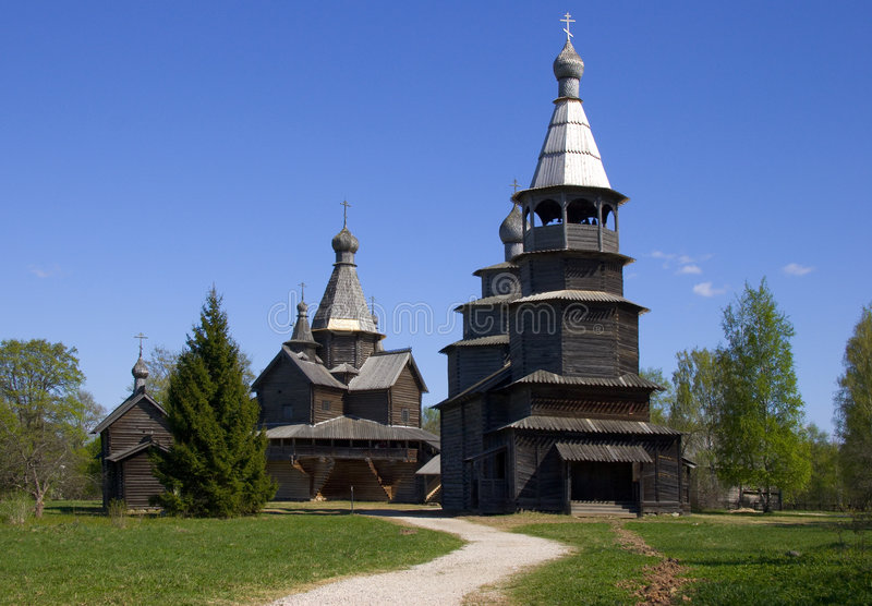 Church, wooden royalty free stock photos