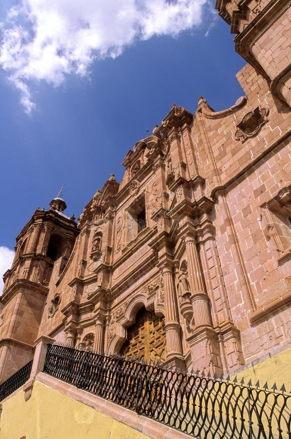 Church- Zacatecas, Mexico royalty free stock photos