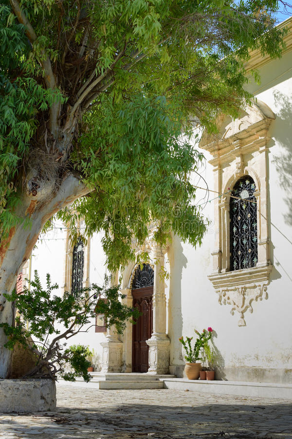 A church in Zakynthos royalty free stock images