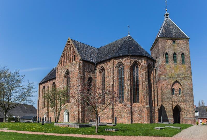Church of Zeerijp royalty free stock photo