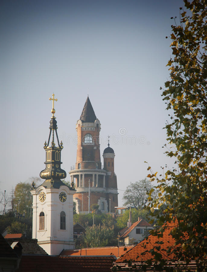 Church in Zemun. St. Nicholas Church in Zemun, Belgrade, Serbia stock images