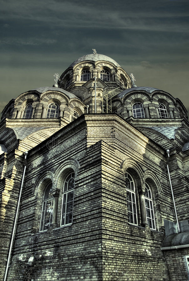 Church Znamenskaja royalty free stock photo