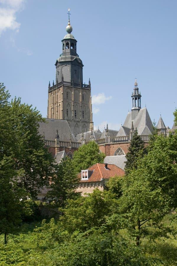 Church Zutphen royalty free stock image