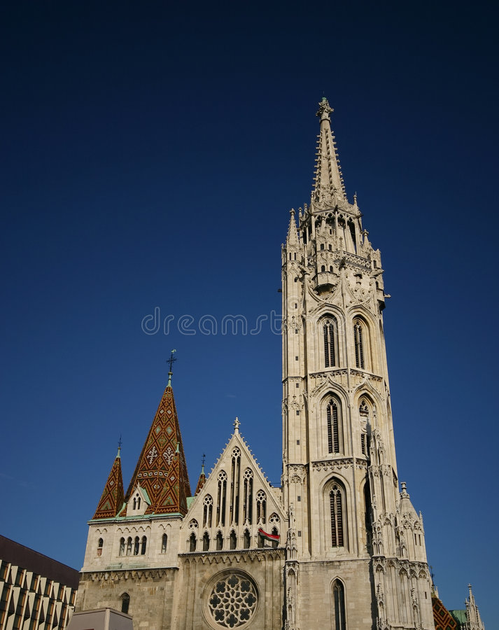 church1 mathias arkivfoton