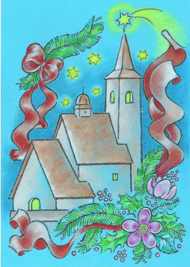 Download Churche illustrazione di stock. Illustrazione di felice - 7314343