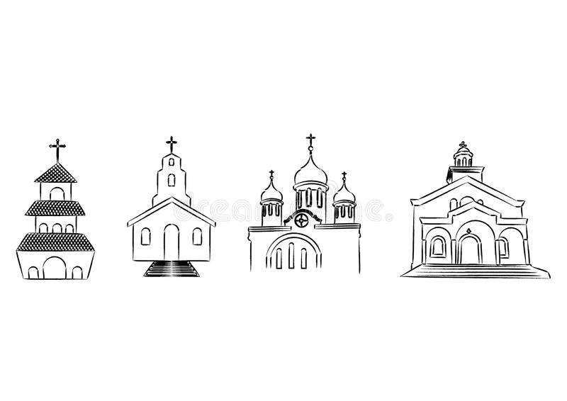Download Churches stock vector. Image of spire, steeple, church - 31517313