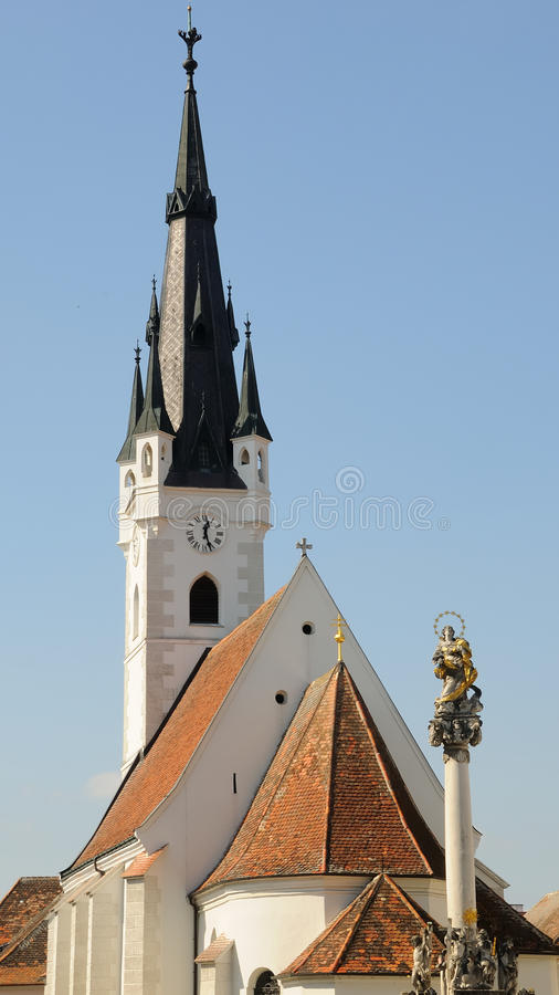 Download Churches of Horn no.1 stock photo. Image of blue, town - 11295212