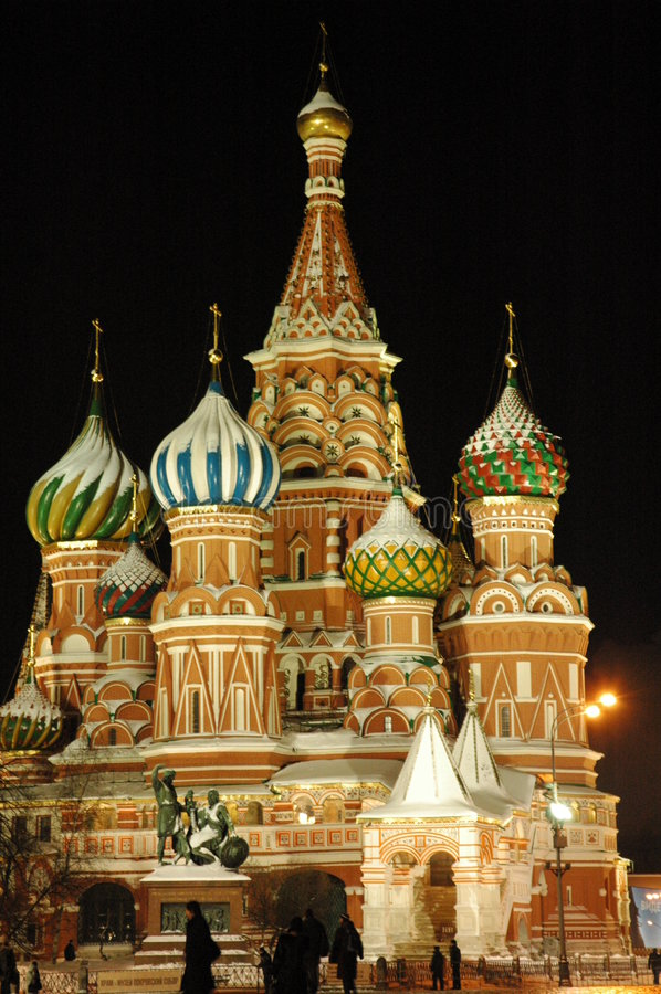 Churches of Moscow, Russia royalty free stock photo