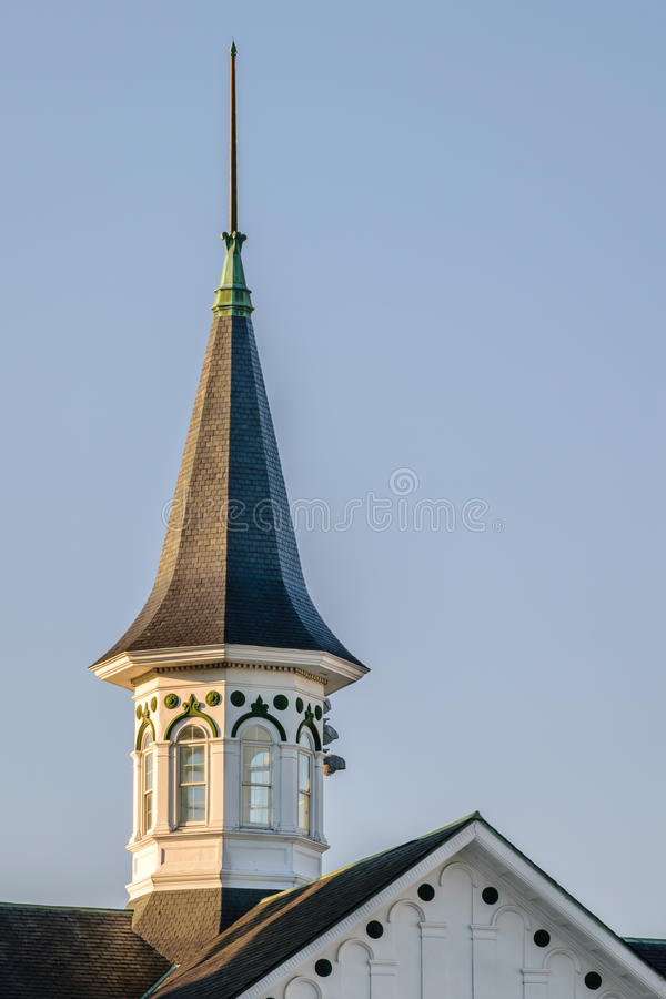 Churchill Down Spire. Spire at Churchill Downs home of the Kentucky Derby stock photography