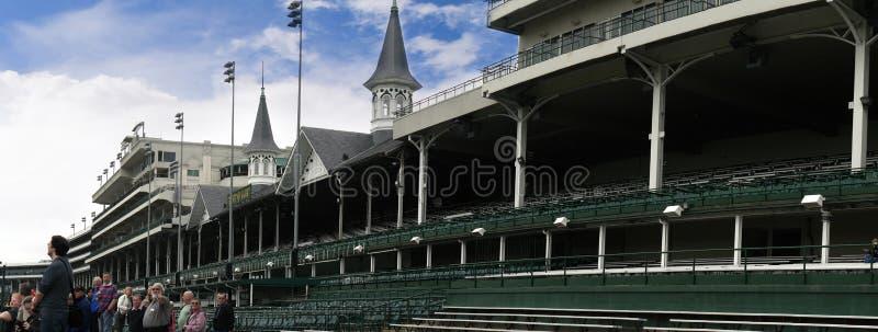 Churchill- Downshaus des Kentuckys Derby in Louisville USA lizenzfreies stockfoto