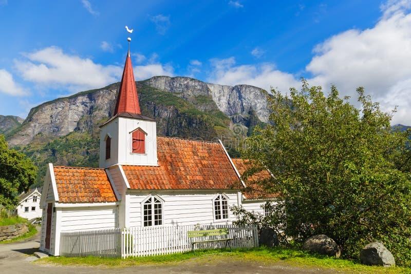 Churchl della doga di Undredal, Norvegia fotografie stock libere da diritti