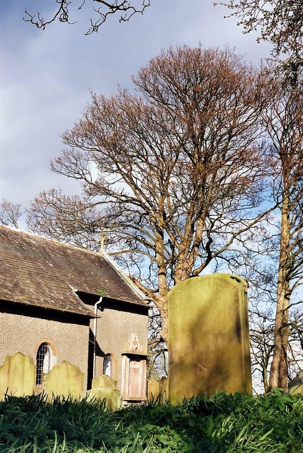 Churchyard fotografia stock libera da diritti