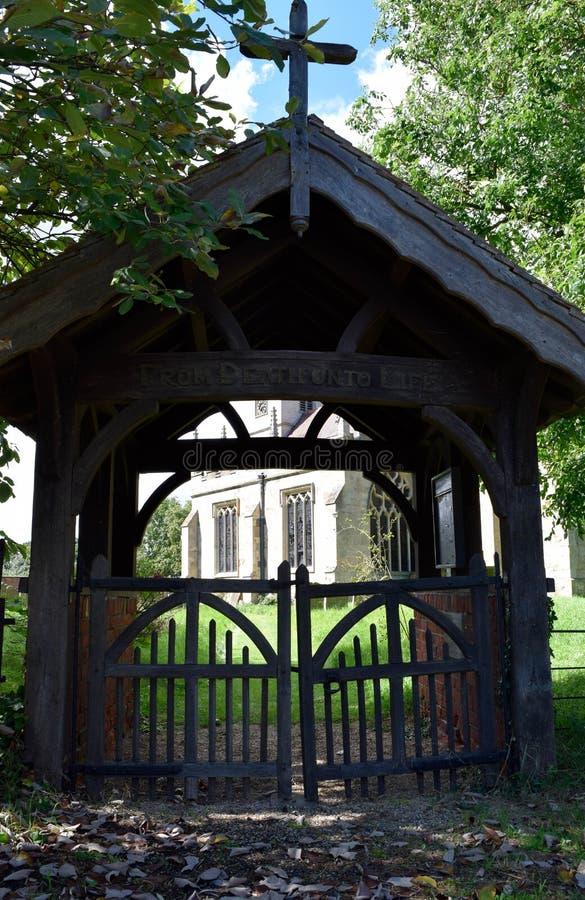 churchyard imagen de archivo libre de regalías