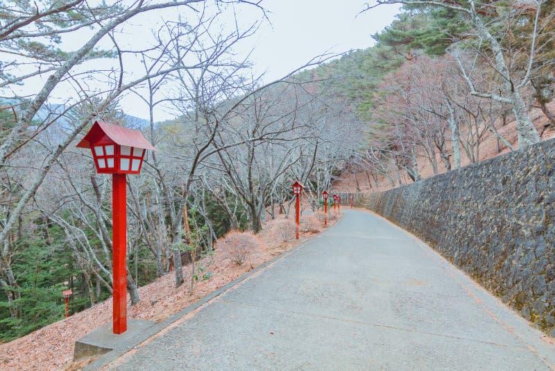 The Chureito Pagoda stock image