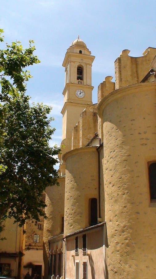 Churh in Bastia lizenzfreie stockfotografie