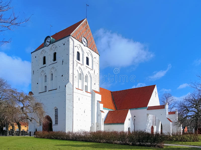 Churh of the Holy Cross in Ronneby, Sweden. Churh of the Holy Cross in Ronneby, Blekinge County, Sweden stock photography
