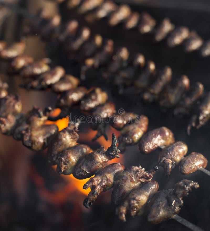 Churrasco de Curaçau, alimento brasileiro tradicional fotos de stock royalty free