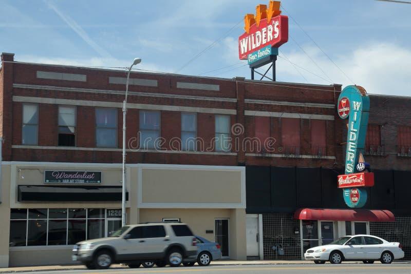 Churrasqueira mais selvagem em Joplin, Missouri imagens de stock royalty free