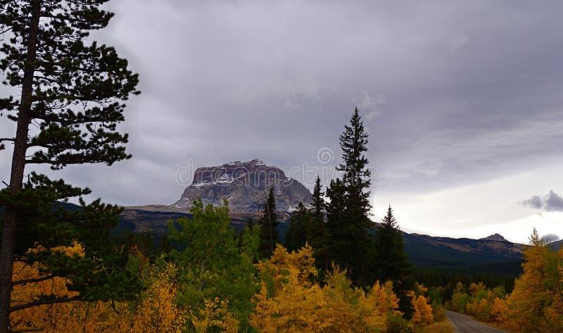 Chute à la montagne en chef, Northside photographie stock libre de droits