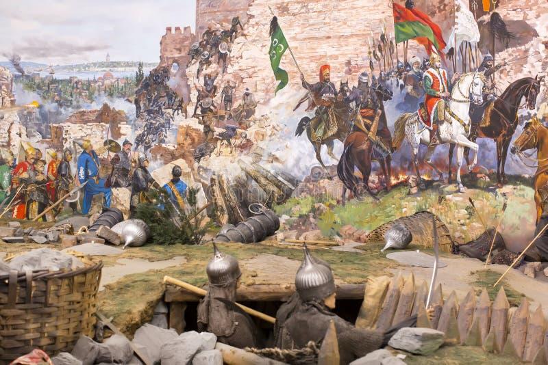 Chute de Constantinople photos libres de droits