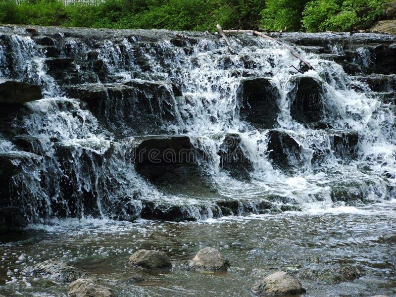 Chute de l'eau photo libre de droits