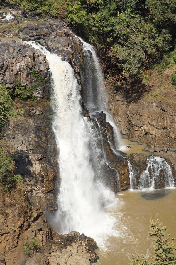 Chutes bleues du Nil, Bahar Dar, Ethiopie photos stock