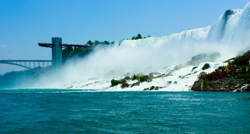 Chutes du Niagara photos stock
