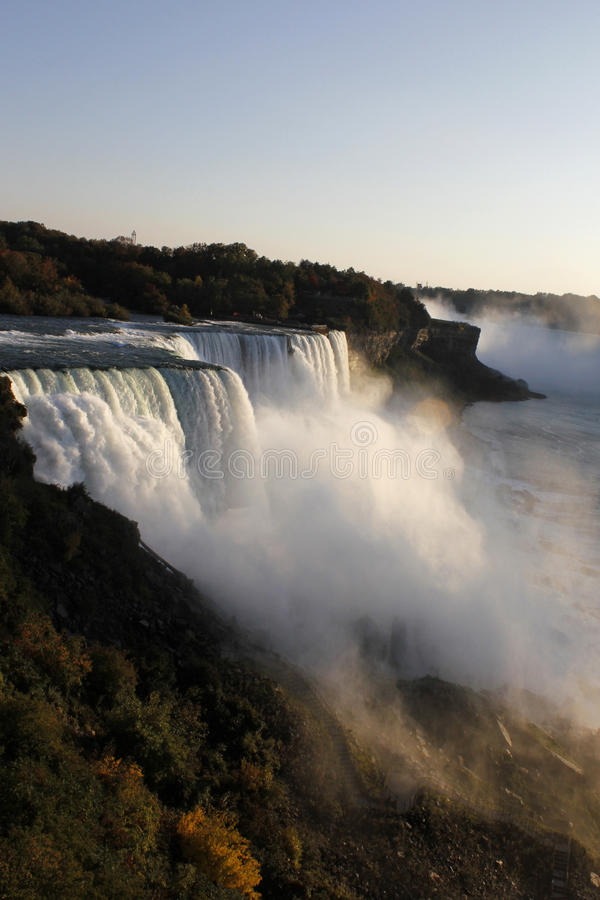 Chutes du Niagara, NY images libres de droits