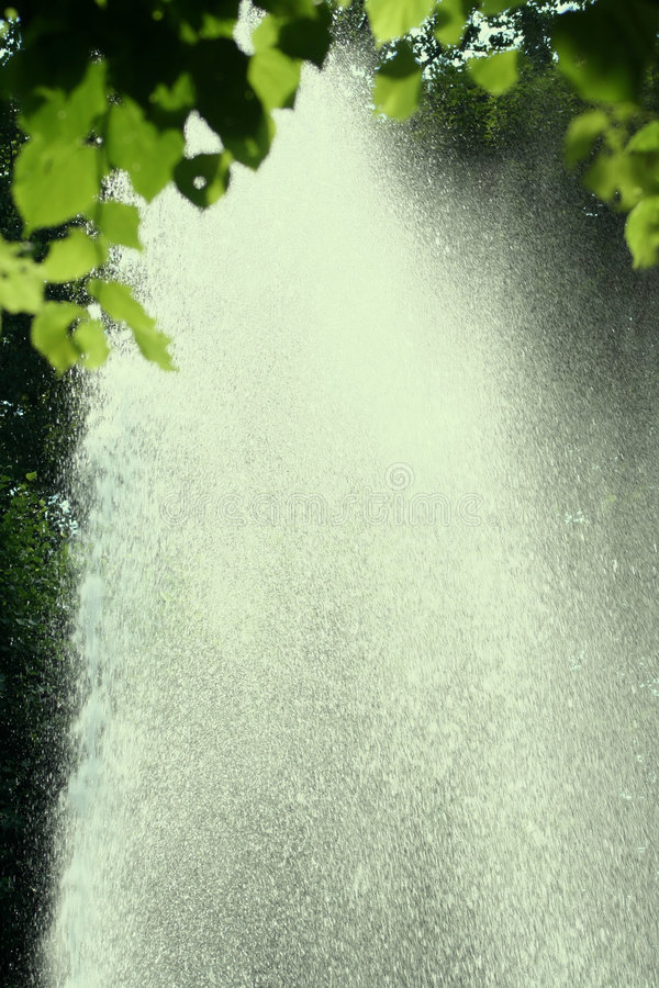 Chuva brilhante fotografia de stock