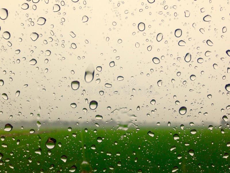 Chuva de vidro imagem de stock