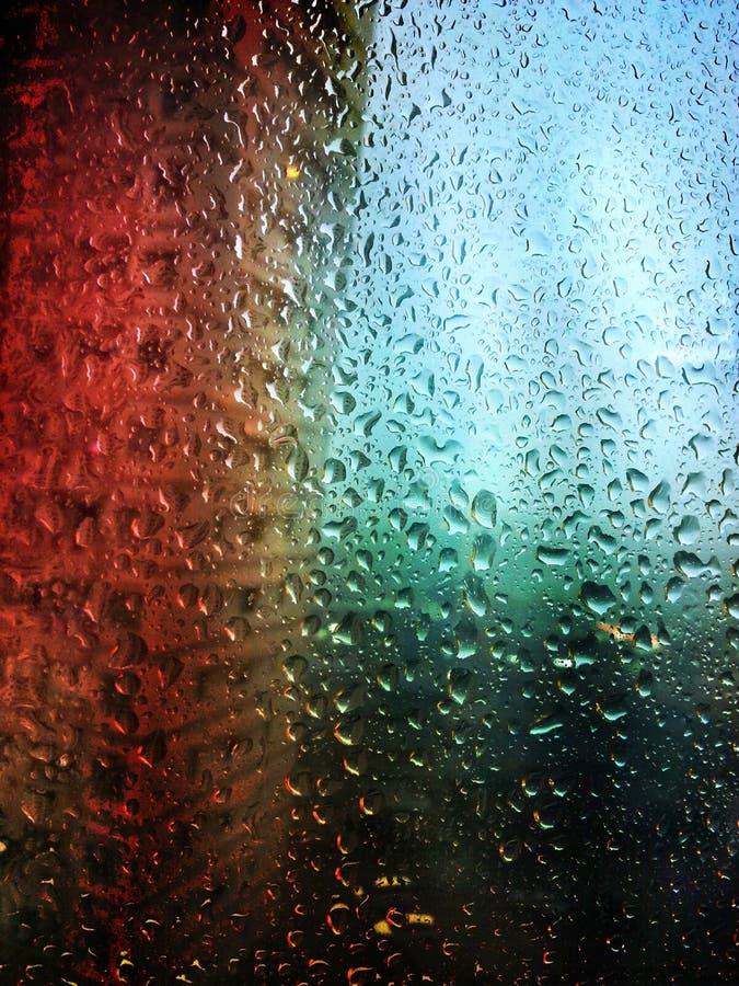 Chuva morna imagens de stock