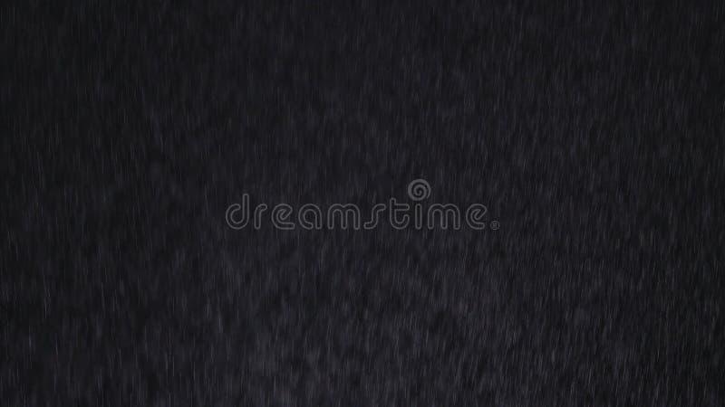 Chuva no fundo preto fotos de stock