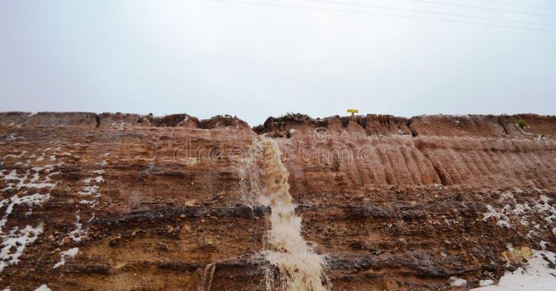 Chuvas das montanhas imagens de stock royalty free