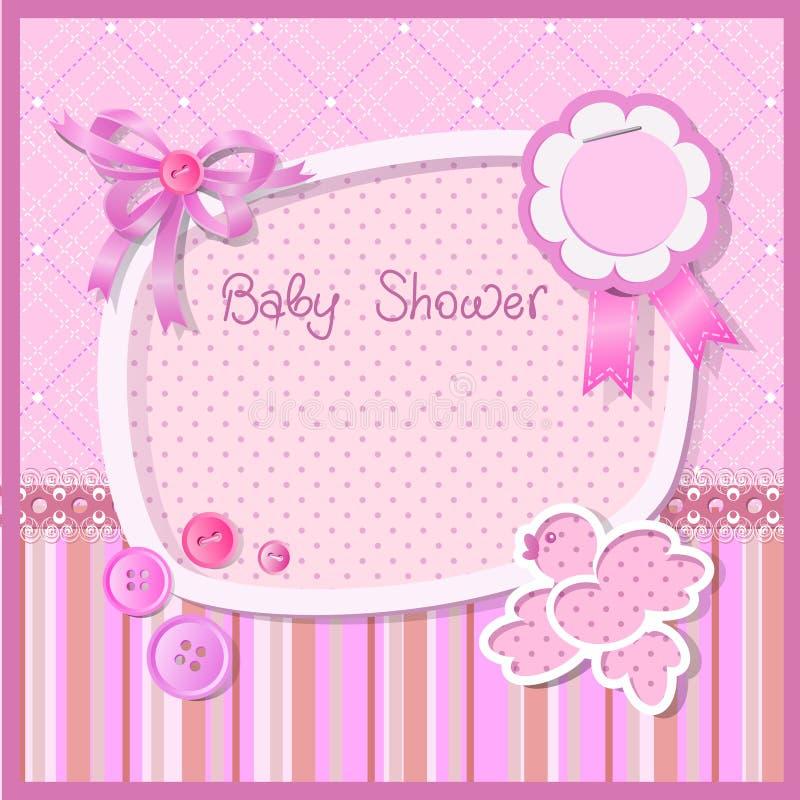 Chuveiro de bebê ilustração do vetor