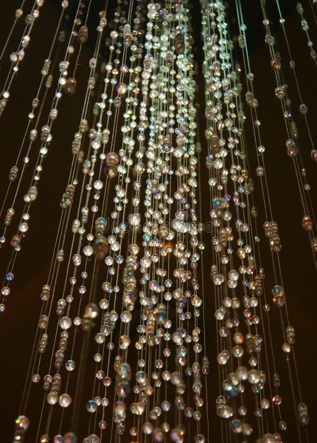Chuveiro de cristal imagens de stock